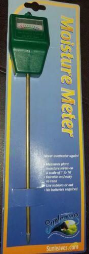 Sunleaves Analog Soil Moisture Meter