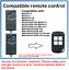 504 MAX43-4 Compatible Remote Control with NOVOFERM NOVOTRON 502 MAX43-2