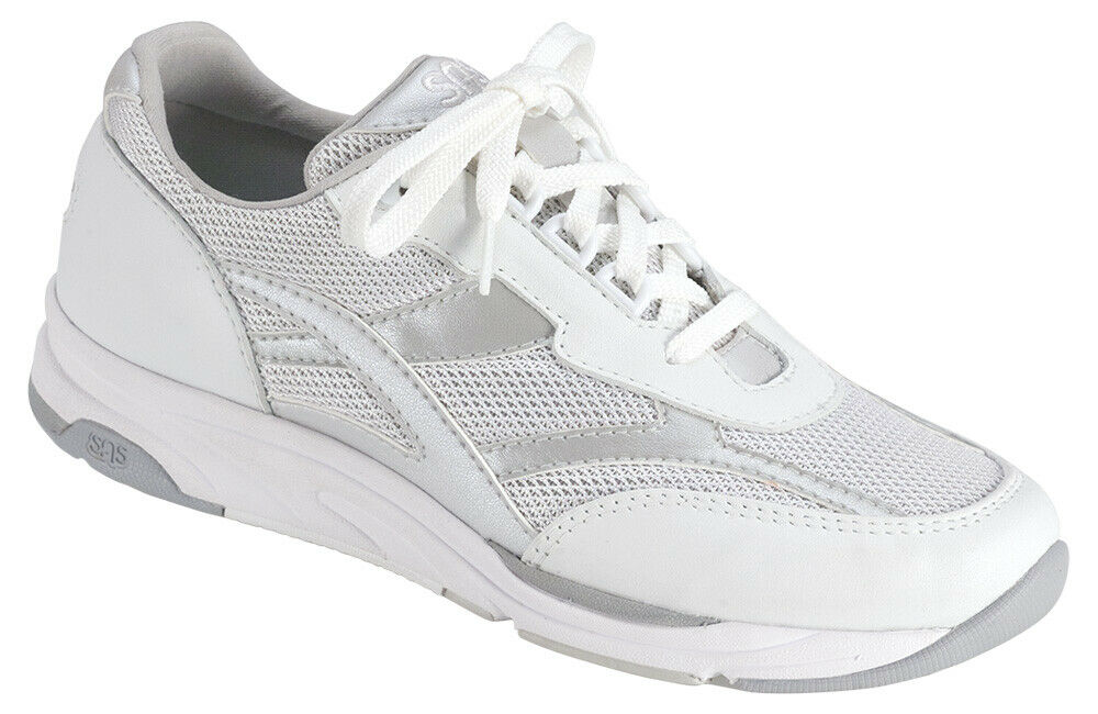 SAS Women's shoes Tour Mesh Silver 10 Medium M FREE SHIPPING Brand New In Box