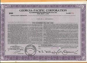 GEORGIA-PACIFIC-CORPORATION-500-SHARE-VINTAGE-STOCK-CERTIFICATE-1976