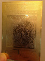 Red-eyes B. Dragon Custom Yugioh Metal Card Limited Collection Golden Cards