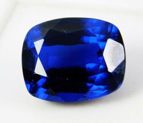 8 CT Naturel Coussin Bleu Clair Rare Cachemire Saphir Desseré Pierre Précieuse