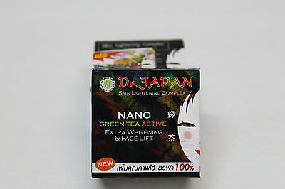 Dr. Japan NANO Green Tea Active Extra Whitening/ Face Lift Cream 10g./.35oz.