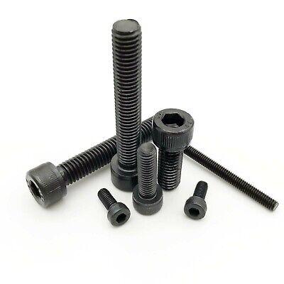 M1.6*6mm DIN912 Grade12.9 Alloy Steel Hex Socket Head Cap Screws 50PC