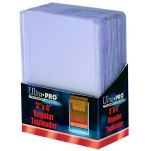 100-Ultra-Pro-Regular-3-x-4-Toploaders-New-top-loaders-New-Sealed