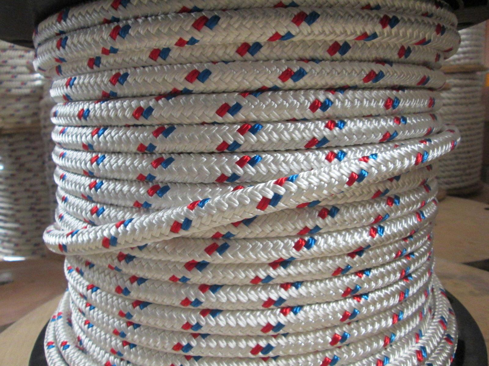 Tree Boss Arborist Rope, MAIN LINE Bull ROPE,10,700 Lb   Rope,9 16  x 150'  USA