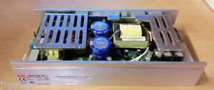 Mean-Well-24V-10A-Commercial-Grade-Power-Supply-Open-Frame-USP-225-24-8x4x1-5-in