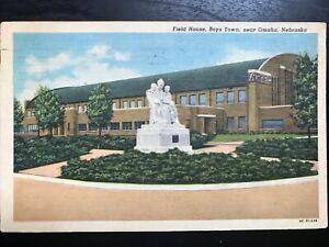 Vintage-Postcard-gt-1950-gt-Field-House-gt-Boys-Town-gt-Omaha-gt-Nebraska