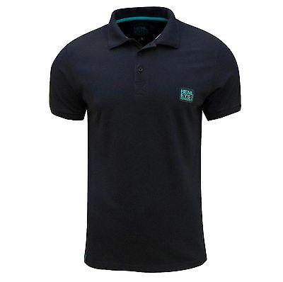 Henleys Men's Loffer Polo T Shirt Navy