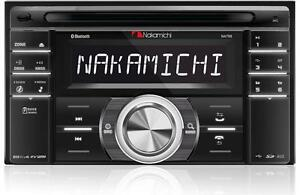 NEW-Nakamichi-NA788-DOUBLE-2-DIN-CD-MP3-Player-Bluetooth-Front-USB-AUX-SD-Slot