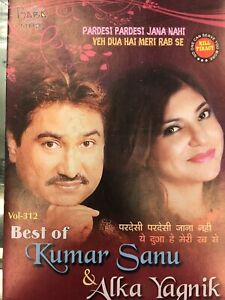 Details about KUMAR SANU ALKA YAQNIK (KING & QUEEN) OF 90S COLLECTION  -99+SONGS MP3 DISC