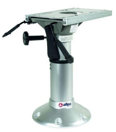 Fuß für Bootsstuhl Sitzfuss Stuhlfuß Sitzbein mit Gasdruck 381-508mm Steuerstuhl