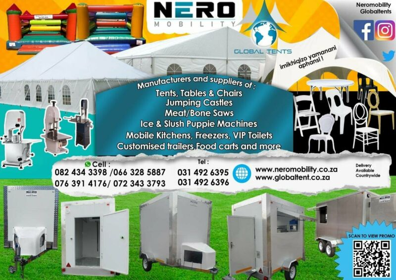 Tents-Mobile Coldrooms-Catering Equipment