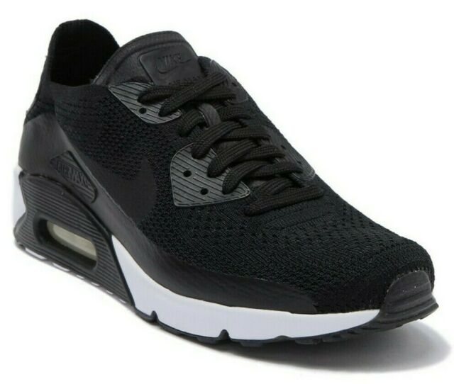 brand new 982d2 77aa5 Men Nike Air Max 90 Ultra 2.0 Flyknit Running Shoes Size 10 Black 875943 004