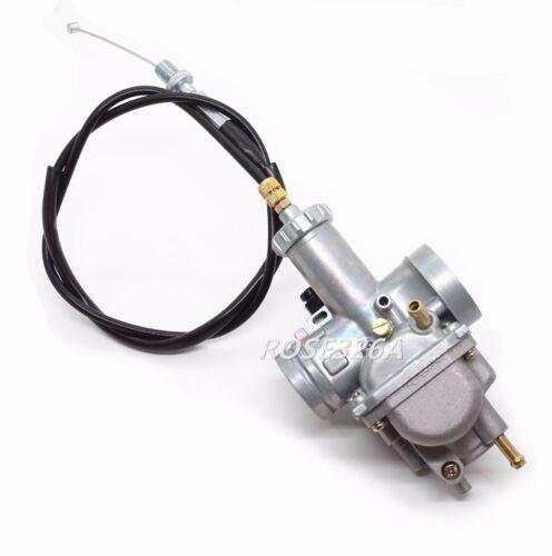 Carburetor & Throttle Cable For Kawasaki Bayou 220 KLF220 Bayou 250 KLF250A