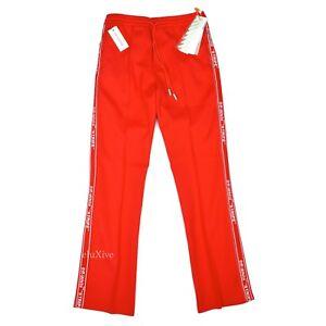 fair price convenience goods buy popular Details about NWT $655 Off-White Virgil Abloh Men's Red Stripe Logo Track  Pants M L AUTHENTIC
