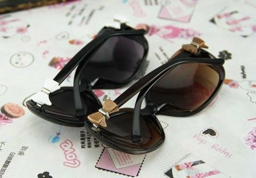 NEW Celebrity Style Butterfly Bow Tie Eyeglasses Women SUNGLASSES Free Shipping