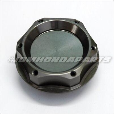 Nissan 200SX 300ZX 350Z S13 S14 Gunmetal Oil Filler Cap 6 Angle