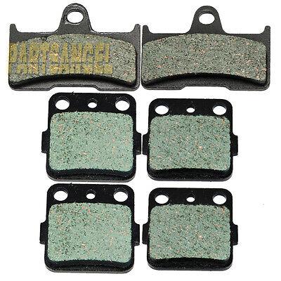 F+R Sintered Brake Pads 2002-2008 2007 2006 2005 Yamaha YFM 660 F Grizzly 660