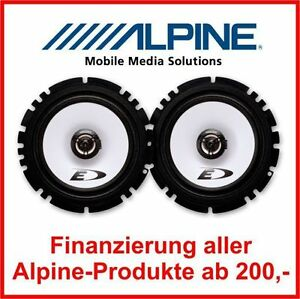 Alpine-SXE-1725S-16-5cm-16cm-2-Wege-Koax-System-auch-VW-Opel-Skoda-Seat
