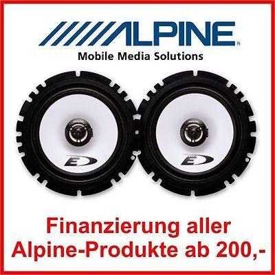 Alpine SXE-1725S  16,5cm 16cm 2-Wege Koax System auch VW Opel Skoda Seat