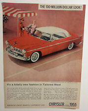 1955 Chrysler Windsor DeLuxe Nassau Ad - Must See !!