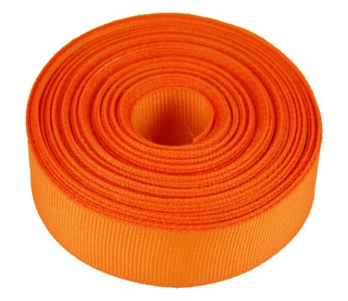 """5 Yards Rolled up 7//8/"""" GROSGRAIN Ribbon 100/% Polyester For Hair Bows One Color"""