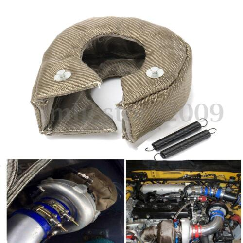 Turbo Blanket Heat Shield Turbocharger Wrap Cover For T3 T25 T28 GT25 GT28