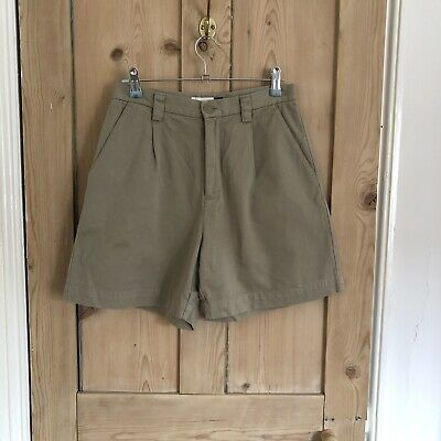 Pietra Chino Donna Gap Pantaloncini Taglia Uk 8/us 4-mostra Il Titolo Originale