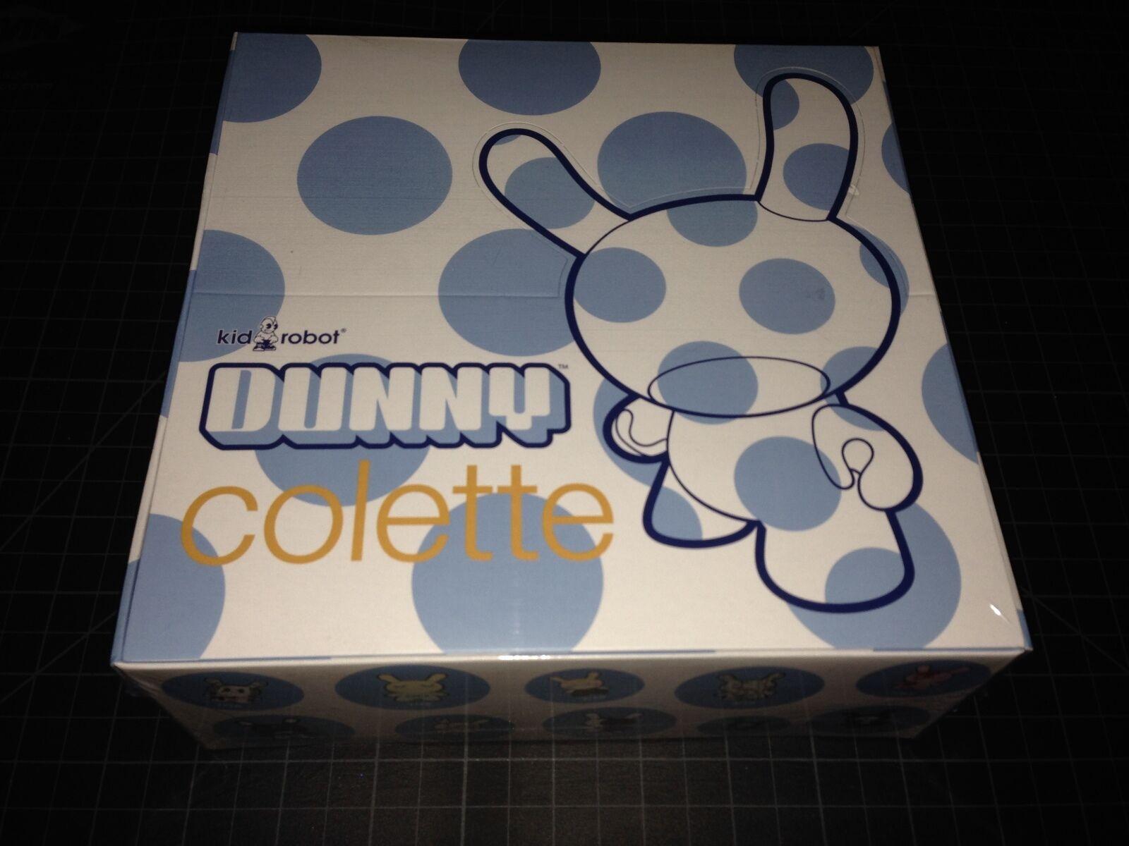 Kidrobot x DUNNY COLETTE FACTORY SEALED Case Blind Boxes Vinyl Figure Toy