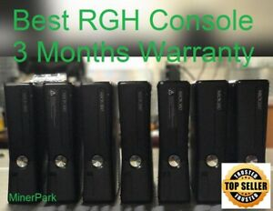 Xbox 360 Slim Console Crafted RGH / JTAG Bundle Instant Booting 3