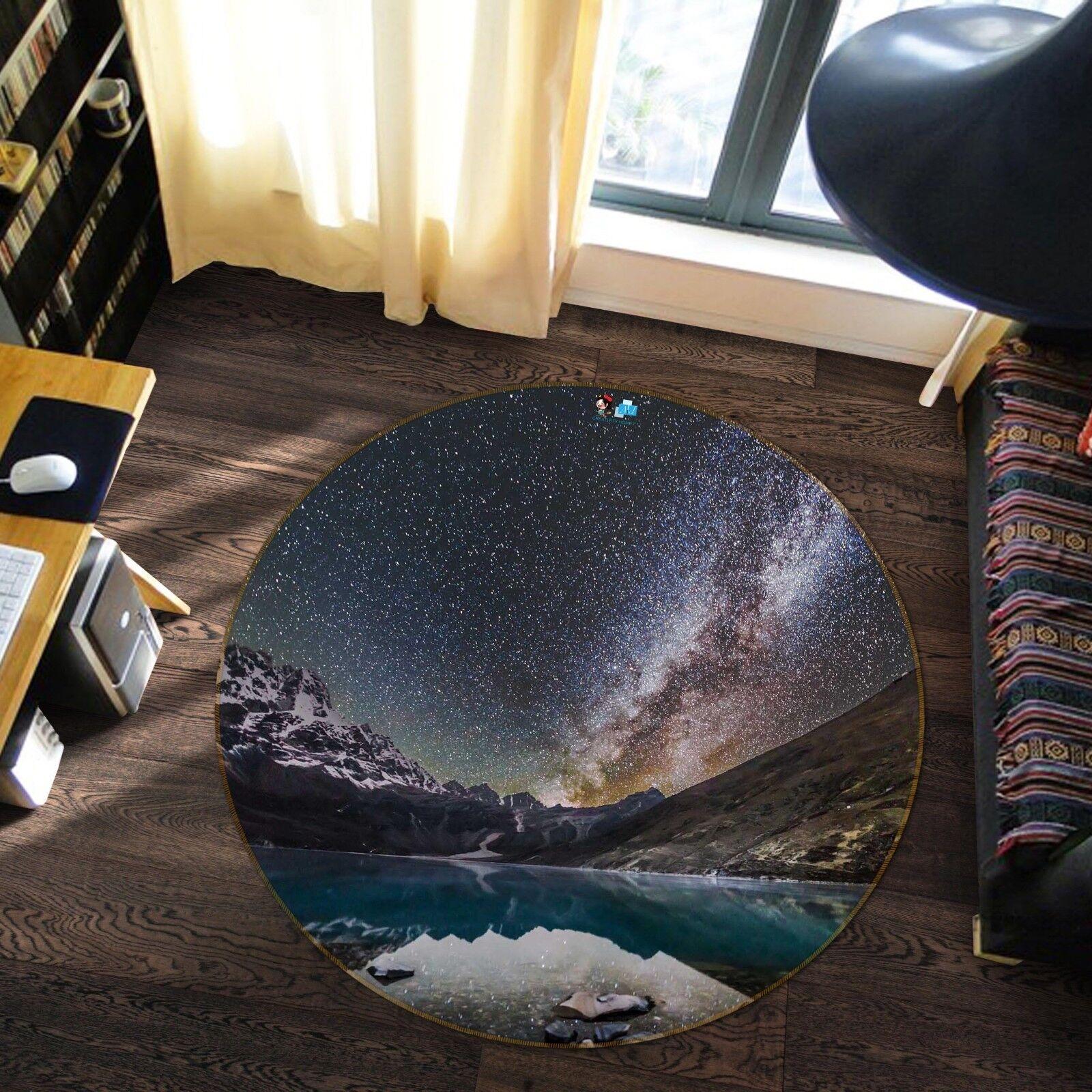 3D Cielo Stellato 11 Pavimento Antiscivolo Tappeti Elegante Tappeto IT Carly