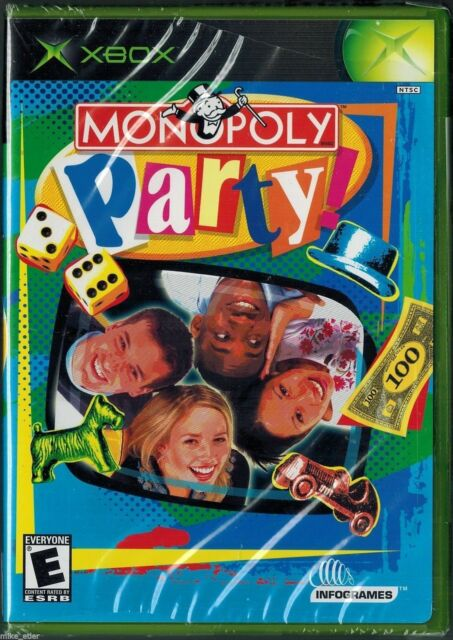 Monopoly Party (Xbox, 2002) Factory Sealed