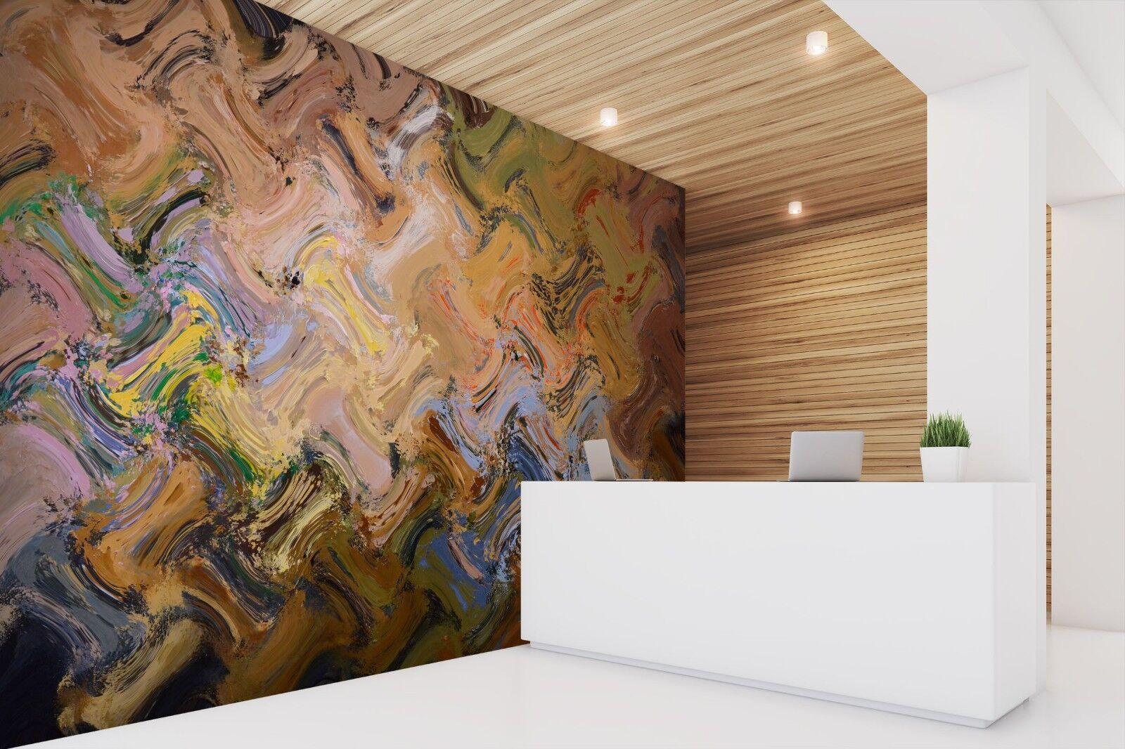 3D Palette Wave 871 Textur Fliesen Marmor Tapeten Abziehbild Tapete Wandbild