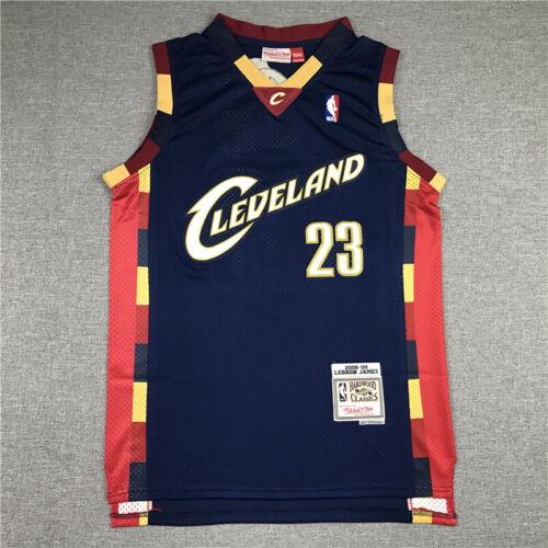 Lebron James #23 Cleveland Cavaliers NBA Basketball Jersey BLACK Swingman VEST
