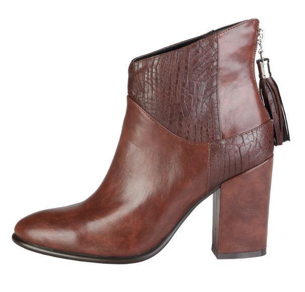 Versace V1969 CECILIE brown Echtleder Stiefel Stiefelette 37 38 39 40 41