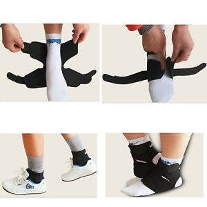 Foot-Ankle-Brace-Protector-Adjustable-Support-Guard-Strap-Warp-GYM-Basketball