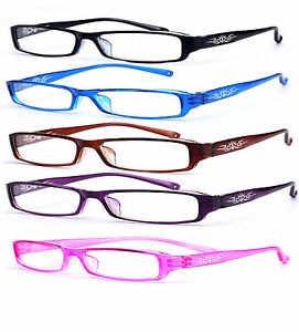 Slim-Reading-Glasses-form-0-00-to-4-00-Unisex-Trendy-Designer-Spring-Mosaic