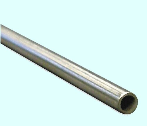 "Welded  0.335/"" Inside Dia. Round Tubing 304 Stainless Steel  3//8/"" OD x 6 ft"