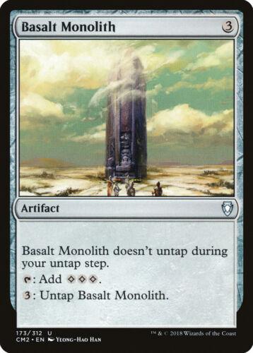 Basalt Monolith Commander Anthology Volume II NM-M Uncommon CARD ABUGames