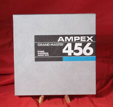 """Ampex 456 10.5"""" X 1/2"""" Aluminum Reel to Reel Excellent! Recorded Once"""