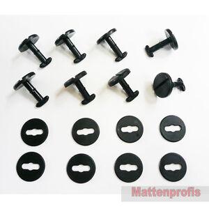 BMW Gummimatten Befestigungen Set für E42, X5, X3, - 8 Stück