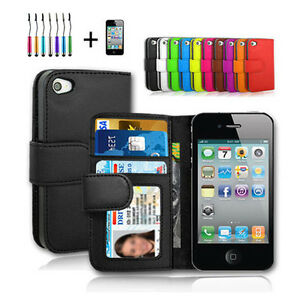 New-AU-iphone-4-4S-Case-Leather-Cover-For-Apple