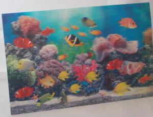 Tropical-Fish-3D-Lenticular-Double-Image-18-75cm-x-28-5cm-unframed
