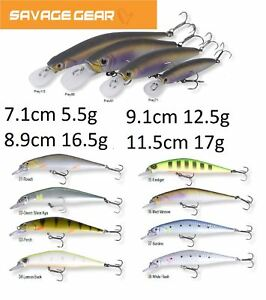 Savage-Gear-Pray-Series-7-1-Cm-11-5-cm-5-5-G-17-g-Fishing-Lure-Various-Colours