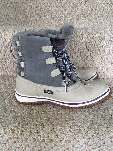 consegna veloce PAJAR donna duck winter winter winter stivali leather waterproof Dimensione USA 6-6.5 EURO 37  memorizzare