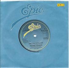 "Michael Jackson:She's out of my life/Push me away:7"" Vinyl Single:UK Hit"