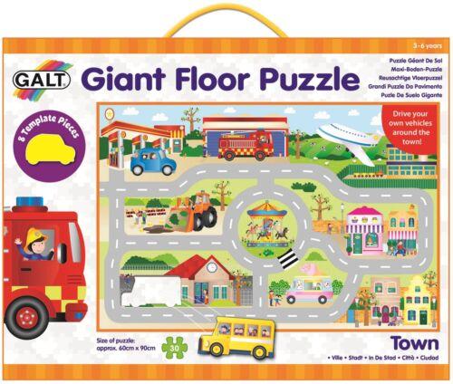 Galt Giant Floor Puzzle-Town Bambini Giocattoli e le attività BN