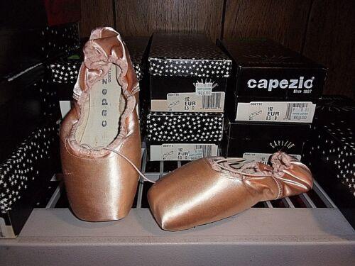 8.5 7.5 #192 Capezio Odette EUR Satin Pointe Ballet Dance shoe size 6.5 7