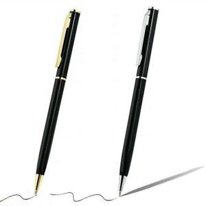 Edelstahl-Kugelschreiber-Buero-Kugelschreiber-Schreiben-Stifte-Schreibwaren